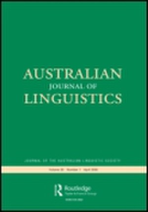 Australian Journal of Linguistics - Image: Australian Journal of Linguistics