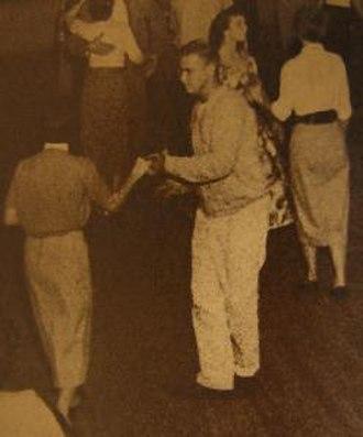 West Coast Swing - Pumpkin Center, Bakersfield, California, 1950s