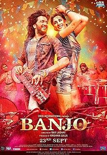 <i>Banjo</i> (2016 film) 2016 film by Ravi Jadhav