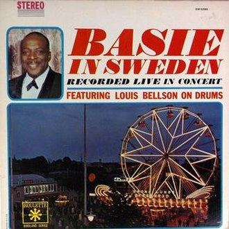 Basie in Sweden - Image: Basie in Sweden