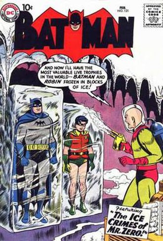 Mr. Freeze - Image: Batman 121 mr zero