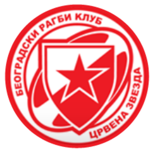 Belgrade Rugby Club Red Star - Image: Belgrade Rugby Club Red Star logo