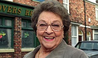 Betty Driver English singer, actress and author, best known for her role as Betty Williams on Coronation Street