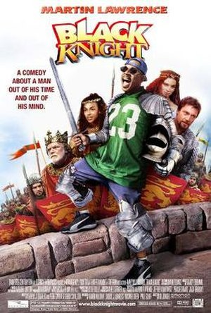 Black Knight (film) - Theatrical release poster