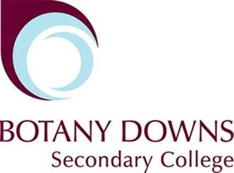 Botany Downs Secondary College - Image: Botanylogo