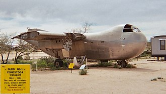 Budd RB Conestoga - RB-1 at the Pima Air Museum