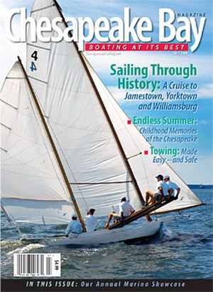 Chesapeake Bay Magazine - Image: CBM July 09 cover