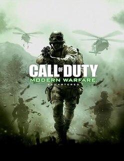 <i>Call of Duty: Modern Warfare Remastered</i> 2016 video game