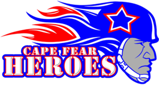 Cape Fear Heroes Professional indoor football team from North Carolina, USA