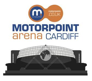 Motorpoint Arena Cardiff indoor exhibition centre and events arena located in Cardiff, Wales