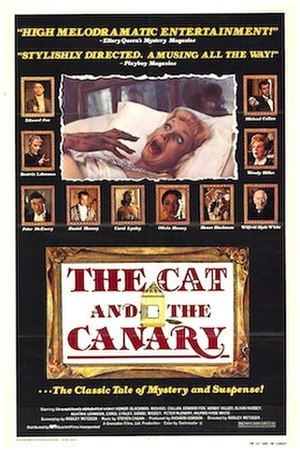 The Cat and the Canary (1979 film) - Original film poster