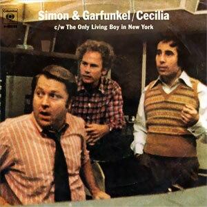 Cecilia (Simon & Garfunkel song) - Image: Cecilia 45
