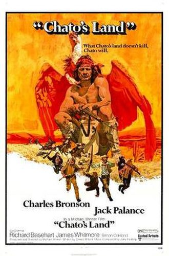 Chato's Land - Theatrical release poster