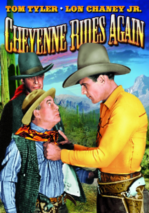 Cheyenne Rides Again - DVD artwork