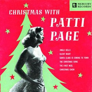 Christmas with Patti Page - Image: Christmas with Patti Page cover