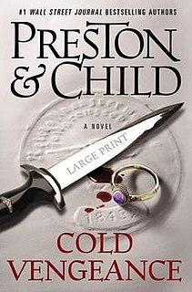 <i>Cold Vengeance</i> (novel) book by Douglas Preston