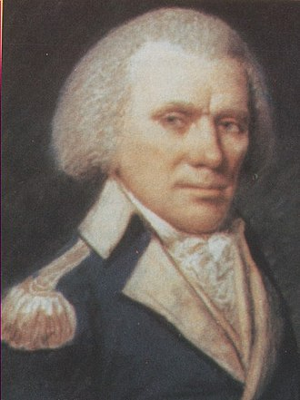 Colonel (United States) - William Few in the uniform of a Continental Army colonel