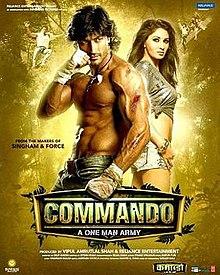 Commando A One Man Army (2013) SL YT - Vidyut Jamwal, Pooja Chopra, Jaideep Ahlawat, Darshan Jariwala, Bhagwan Tiwari, Dimple Bagrey, Baljinder Kaur