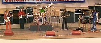 Ayers Rock (band) - Image: Concert Ayers Rock Bangladesh