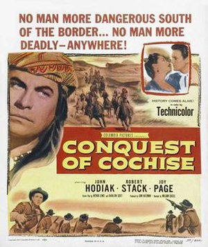 Conquest of Cochise - Film poster