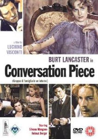 Conversation Piece (film) - UK DVD cover