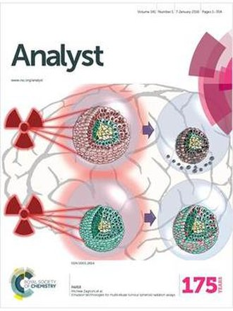 Analyst (journal) - Image: Cover Issue Analyst