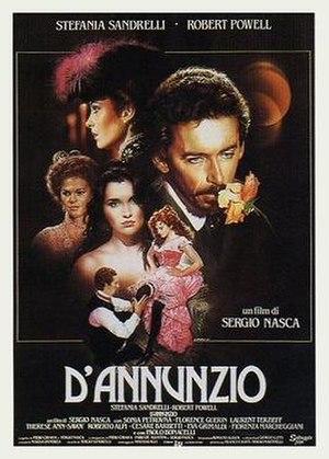 D'Annunzio (film) - Italian theatrical release poster by Renato Casaro