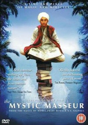 The Mystic Masseur - Image: DVD cover of the movie The Mystic Masseur