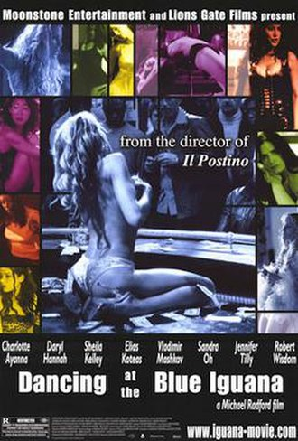 Dancing at the Blue Iguana - theatrical release poster
