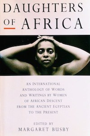 Daughters of Africa - UK 1st edition cover, 1992