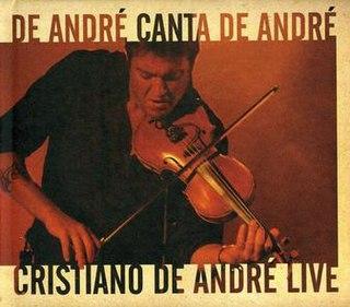 <i>De André canta De André</i> live album