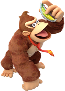 Donkey Kong (character) fictional ape from the Donkey Kong series