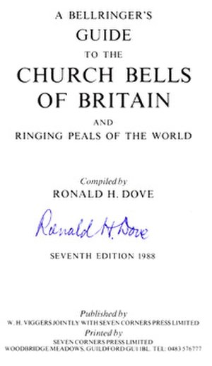 Dove's Guide for Church Bell Ringers - Title page of 7th edition