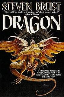 <i>Dragon</i> (Brust novel) 1998 novel in the Vlad Taltos series by Steven Brust