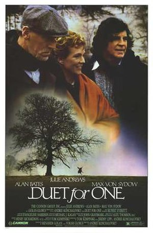 Duet for One - Theatrical release poster