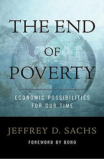 <i>The End of Poverty</i> nonfiction book by economist Jeffrey Sachs