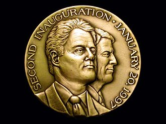 Don Everhart - President William Clinton Second Inauguration Medal, Don Everhart