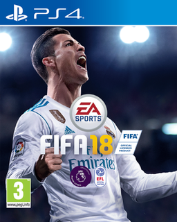 <i>FIFA 18</i> 2017 association football videogame
