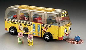 "Little People - ""Safety School Bus"" 1959"