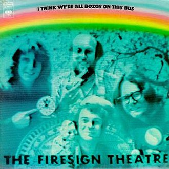 I Think We're All Bozos on This Bus - Image: FST I Think We're All Bozos on This Bus album cover