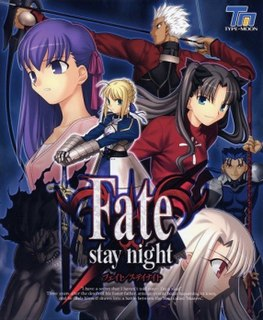 <i>Fate/stay night</i> Japanese visual novel, manga, and anime series