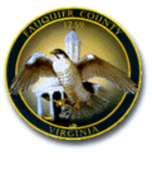 Fauquier County, Virginia - Image: Fauquier County Seal