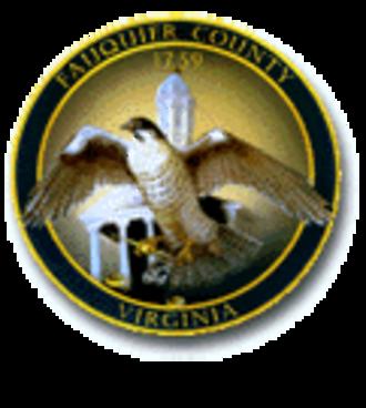 Fauquier County, Virginia - Image: Fauquier County Seal