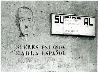 Language policies of Francoist Spain Dictatorial establishment of a single official language