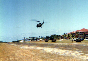 Fort Sherman - Ft. Sherman, Panama in 1986