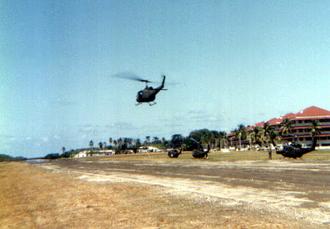 Fort Sherman - Ft. Sherman, Panama in 1986