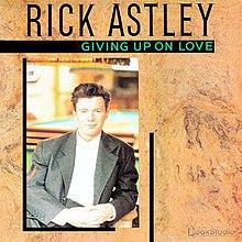 You gave up on love lyrics rick astley gonna