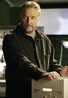 Gil Grissom Fictional character on American television series CSI: Crime Scene Investigation