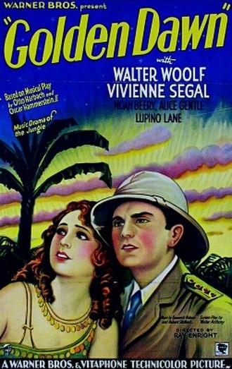 Golden Dawn (film) - Vivienne Segal and Walter Woolf King
