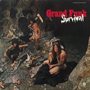 Survival (Grand Funk Railroad album) - Image: Grand Funk Survival